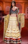 Jacqueline Fernandez walks the ramp at ABIL Pune Fashion Week