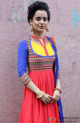 Kangana Ranaut In A Traditional Outfit
