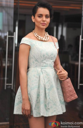 Kangana Ranaut launches her own website