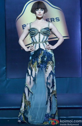 Kangana Ranaut walks the ramp at Blenders Pride Fashion Tour 2013