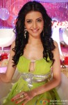 Karishma Tanna on the sets of Meethi Choori