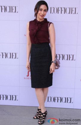 Karisma Kapoor Looks Fabulous At An Event