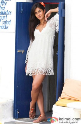 Katrina Kaif Looking Stunning In A White Dress