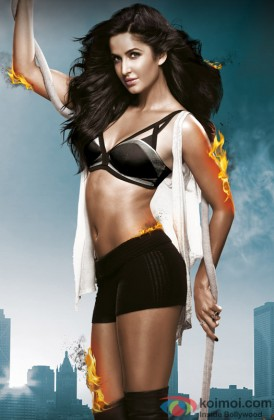 Katrina Kaif in 'Dhoom' avatar