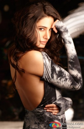 Nargis Fakhri Flaunts Her Sexy Back