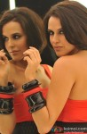 Neha Dhupia Snapped In A Mirror Image