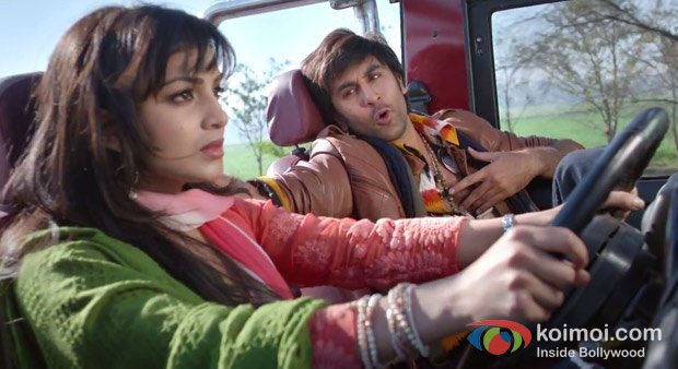 Pallavi Sharda And Ranbir Kapoor in Besharam Movie Stills