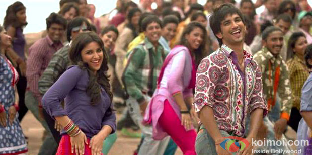 Parineeti Chopra And Sushant Singh Rajput in Shuddh Desi Romance Movie Stills