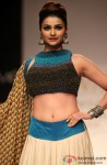 Prachi Desai walks the ramp at Lakme Fashion Week Winter/Festive 2013