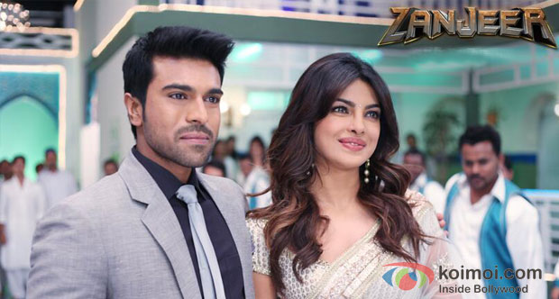 Ram Charan Teja And Priyanka Chopra in Zanjeer 2013 Movie Stills