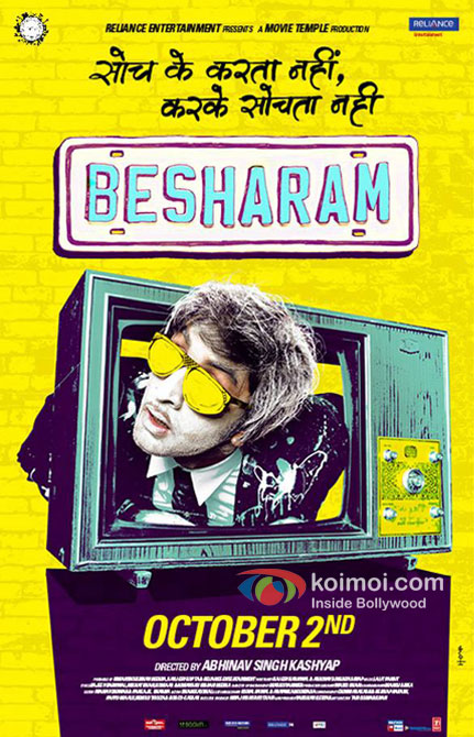 Ranbir Kapoor in Besharam Movie New Poster Pic 3