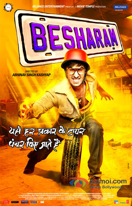 Ranbir Kapoor in Besharam Movie Poster