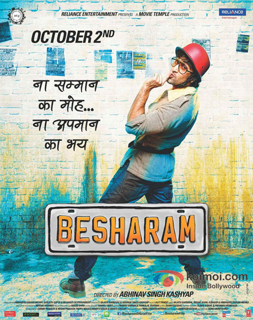 Ranbir Kapoor in Besharam Movie New Poster Pic 4