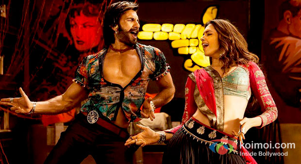Ranveer Singh And Deepika Paukone in Ramleela Movie Stills