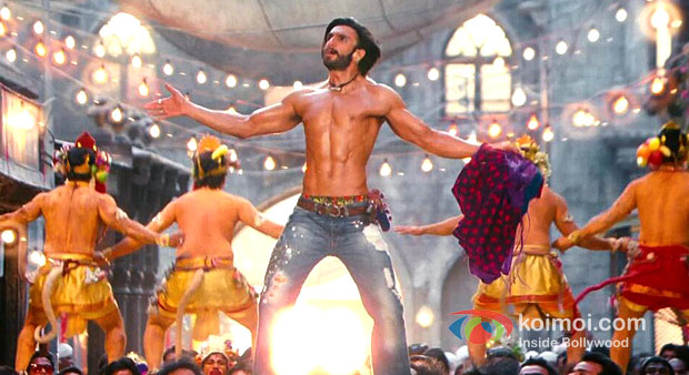 Ranveer Singh in Ramleela Movie Stills