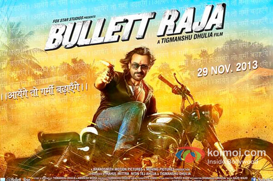 Saif Ali Khan in Bullett Raja Movie Poster