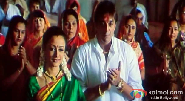 Sanjay Dutt in Vaastav Movie Stills