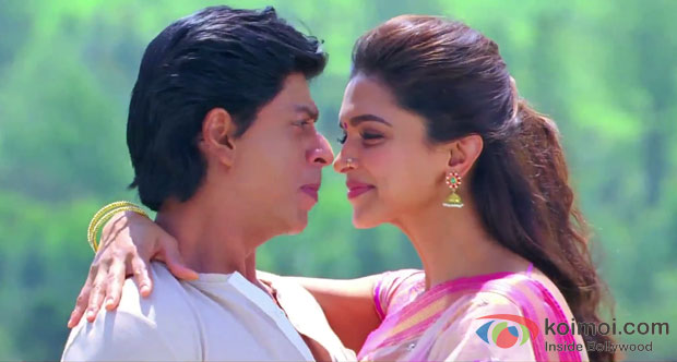 Shah Ruhk Khan And Deepika Paukone in Chennai Express Movie Stills