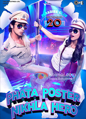 Shahid Kapoor And IleanaD'Cruz in Phata Poster Nikhla Hero Movie Review (Shahid Kapoor And IleanaD'Cruz in Phata Poster Nikhla Hero Movie Poster)