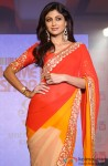 Shilpa Shetty Sizzles In A Red Saree