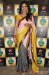 Shilpa Shetty poses during the show Nach Baliye 5