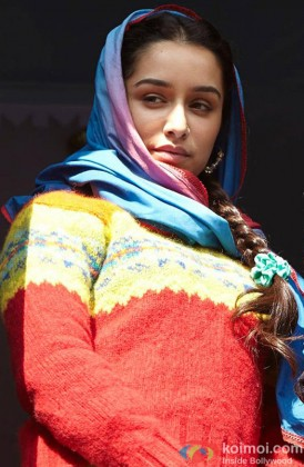Shraddha Kapoor In A Still From Haider