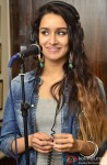 Shraddha Kapoor Snapped In A Recording Studio