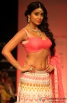 Shriya Saran walks the ramp at Lakme Fashion Week Winter Festive 2013