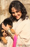 Sonakshi Sinha Poses With A Cute Puppy