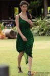 Tena Desae looks elegant in a green dress