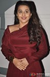 Vidya Balan Snapped Smiling At An Event