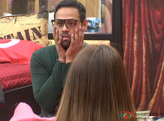 VJ Andy during discussion (Bigg Boss 7)