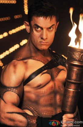 Aamir Khan In A Still From Malang Song