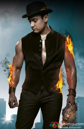 Aamir Khan In The Role Of Sahir From Dhoom 3