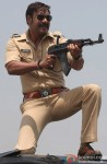 Ajay Devgn In A Still From Singham Returns