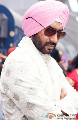 Ajay Devgn In His Son Of Sardaar Look