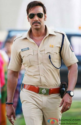 Ajay Devgn Looking Smart As Bajirao Singham