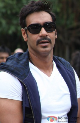 Ajay Devgn Looking Stunning With Shades