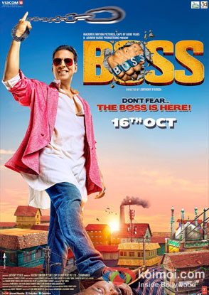 Akshay Kumar in Boss Movie Review ( Akshay Kumar in Boss Movie Poster )
