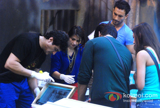 Armaan Kohli, Tanisha Mukherjee, Asif Azim, Gauhar Khan And Kushal Tandon in Bigg Boss 7