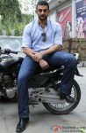 Arunoday Singh Looking Smart On A Bike