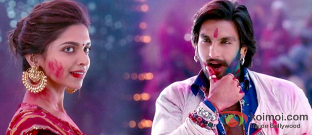 Deepika Padukone And Ranveer Singh in Ramleela Movie Stills
