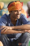 Dhanush's smile captured by the lenses
