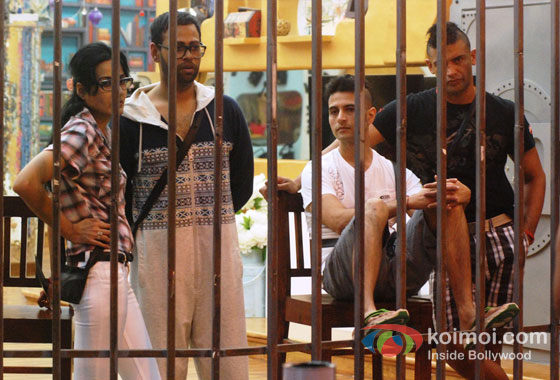 Kamya Panjabi, VJ Andy And Sangram Singh in Bigg Boss 7