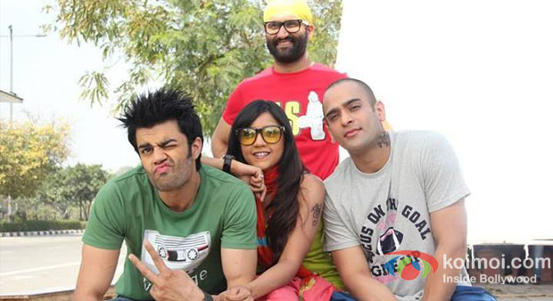 Manish Paul in a still from Mickey Virus
