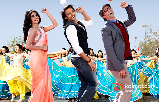 Priyanka Chopra And Hrithik Roshan in Krrish 3 Movie Stills