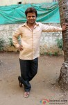 Rajpal Yadav on the sets of Babuji Ek Ticket Bambai