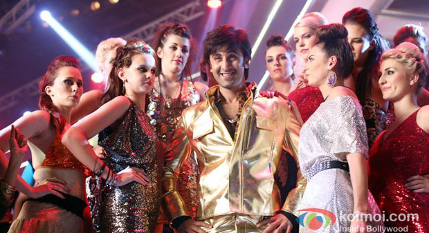 Ranbir Kapoor in a still from Besharam