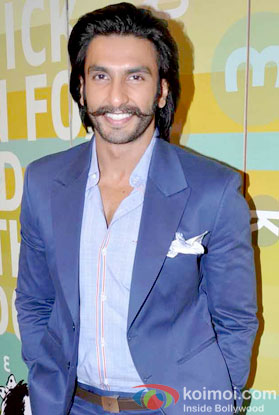 Ranveer Singh at an event
