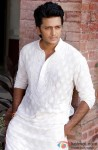 Riteish Deshmukh snapped in a simple white kurta